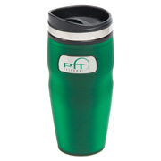 16 oz. Plastic Indent Medallion Tumbler