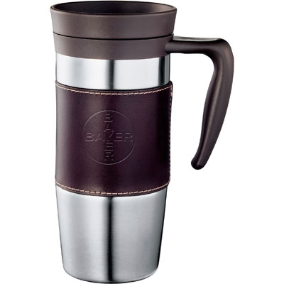 Cutter & Buck American Classic Leather Mug 14 oz.