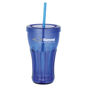 Fountain Soda 16 oz. Tumbler With Straw