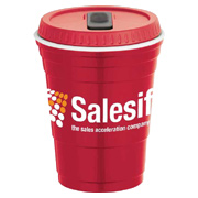 Game Day Cup With Lid - 16 oz.