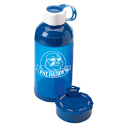 21 oz. Straight Water Bottle With Pill Case