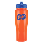 24 oz. Opaque Contour Bottle - Push/Pull Lid