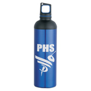 Dual Cap Aluminum Bottle - 20 oz.