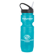 22 oz. Translucent Jogger Bottle - Sport Sip Lid