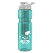 28 oz. Bottle With Long Infuser and Snap Lid