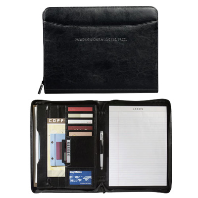 Renaissance Zippered Padfolio