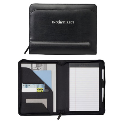 Distinctions Jr. Zippered Padfolio