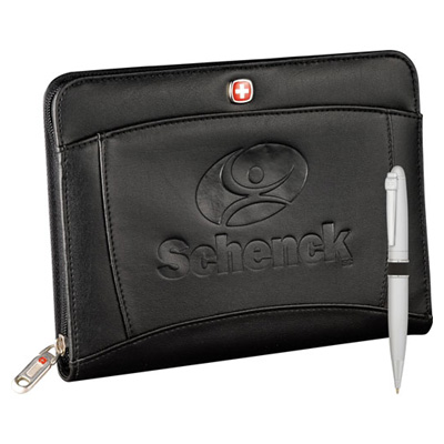 Wenger Jr. Zippered Padfolio Bundle Set