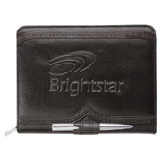 Wingtip Jr. Zippered Padfolio