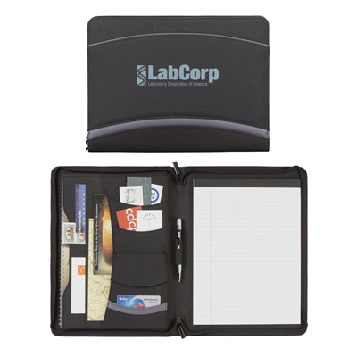 Quest Zippered Padfolio