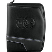 Precision Jr. Zippered Padfolio