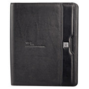 Cutter & Buck Performance Zippered Padfolio