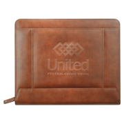 Cutter & Buck Legacy Zippered Padfolio