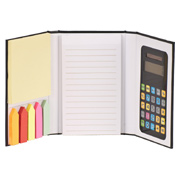 Calculator Jotter With Sticky Notes
