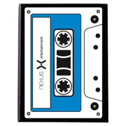 Iconic Cassette Notebook