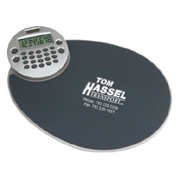 Ergonomic Mousepad With Rotating Calculator