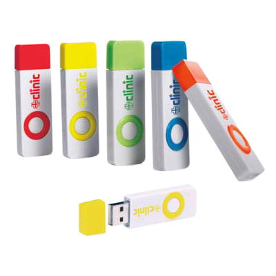 4GB Color Pop USB 2.0 Flash Drive