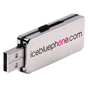 4GB Stainless USB 2.0 Flash Drive