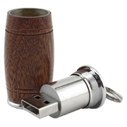4GB Wine Barrel USB Flash Drive