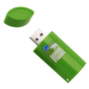 8GB Riclado 100% Post-Consumer Recycled Flash Drive