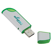 4GB Slanted Folding USB 2.0 Flash Drive