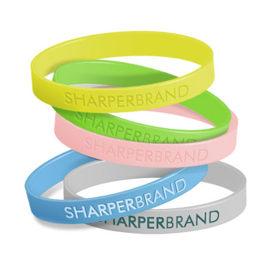 Silicone Rubber Wristband (Adult)
