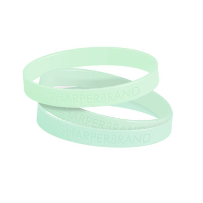 Silicone Rubber Wristband (Glow - Adult)