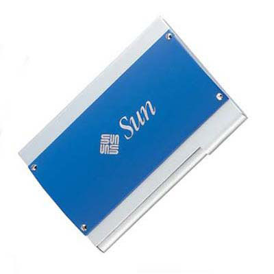 Sapphire Business Card Case