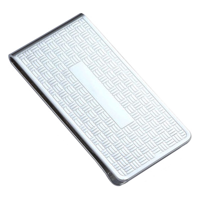 Chrome Plated Money Clip