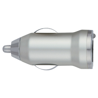 On-The-Go Car Charger - Silver
