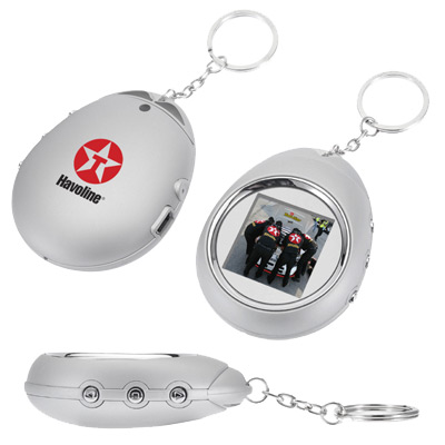 "Zambra 1.5"" Digital Photo Keychain"