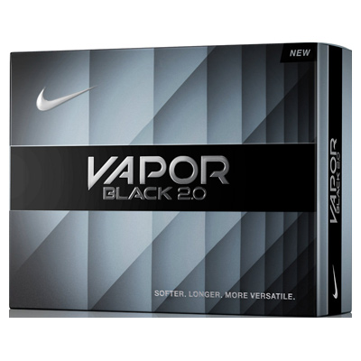 Nike Vapor Black 2.0 Golf Balls