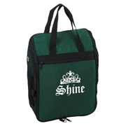 Crinkled Nylon Golf Shoe Bag