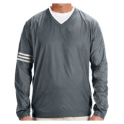 Adidas Golf Men's climalite Colorblock V-Neck Wind Shirt