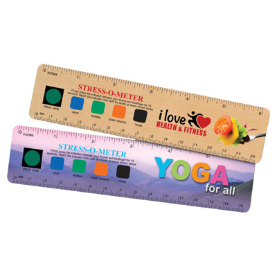 "USA Stress-O-Meter 6"" Ruler"