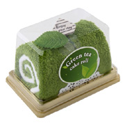 Swiss Roll Green Tea Towel Cake