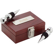 Executive Collection Wine Stopper Set