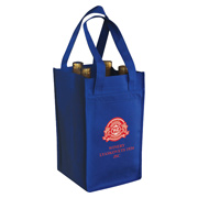 Non Woven 4 Bottle Wine Bag
