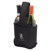 Two Bottle Neoprene Wine Bag/Caddy