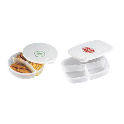 Premium 3-Section Food Container