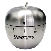 Stainless Steel Apple Timer