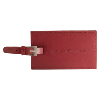 Whitney Rectangular Luggage Tag
