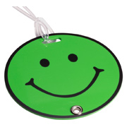 Smilin' Luggage Tag