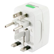 Universal Travel Adapter Plug with Storage Pouch