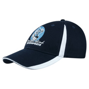 Brushed Heavy Cotton With Inserts On Visor and Crown