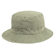 Washed Pigment Dyed Cotton Twill Bucket Hat