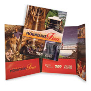 Three Panel Pocket Folder