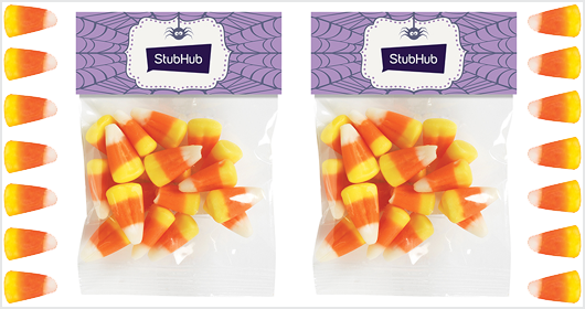 1 oz. Header Bag With Candy Corn