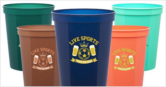 16 oz. Reusable Plastic Stadium Cup