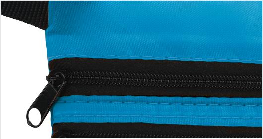 Neon Multi Zipper Pouch